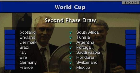 WC Last 16 draw