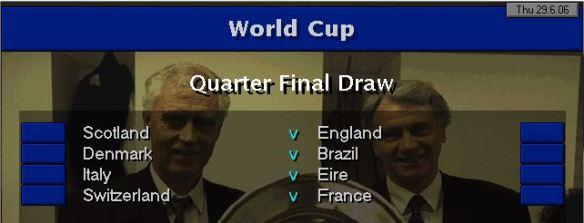 WC QF Draw