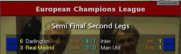 CL SF Results