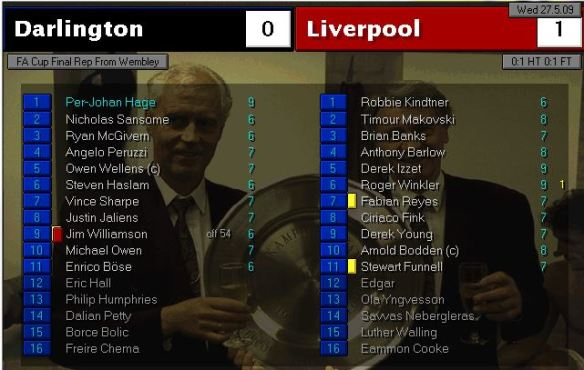 FA Cup final 09 replay