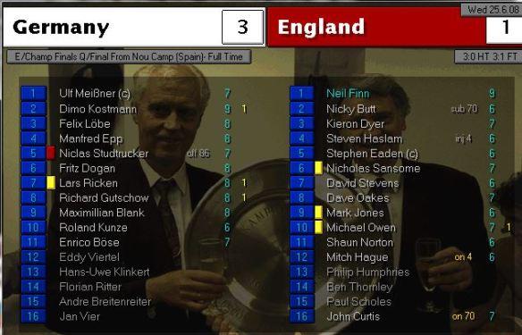 germany 3 - 1 england