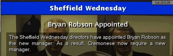 robson to sheff wed
