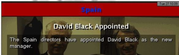 Spain appoint me