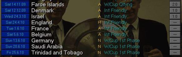 spain schedule