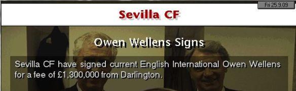 wellens to sevilla