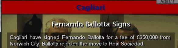 ballotta gone