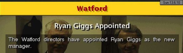 giggs to watford