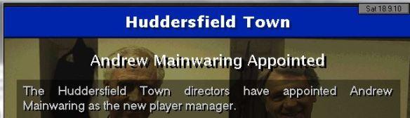 mainwaring manager
