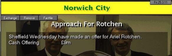 sheff wed in for rotchen