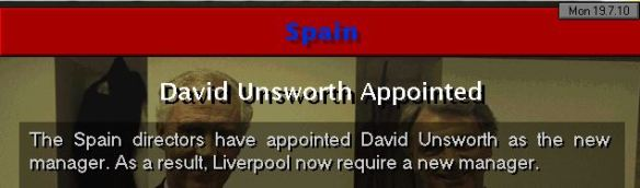 unsworth to spain