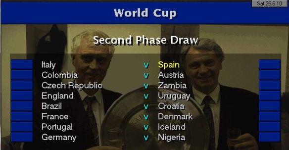 WC draw last 16
