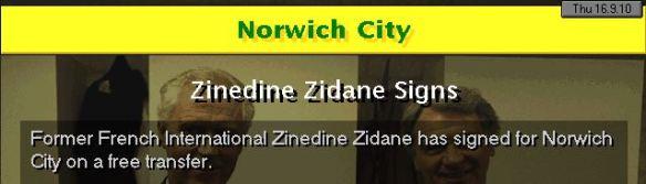 zidane signs