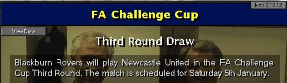 FA Cup 3rd round draw