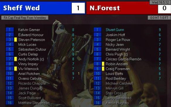 fa cup final replay 12