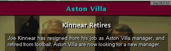 JFK retires