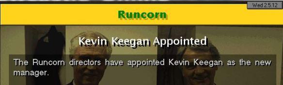keegan to runcorn