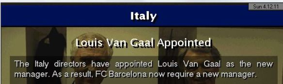 LVG to Italy
