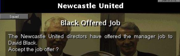 nufc job offered