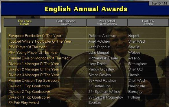 awards 14