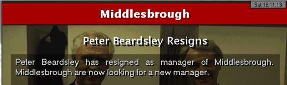 beardsley resigns