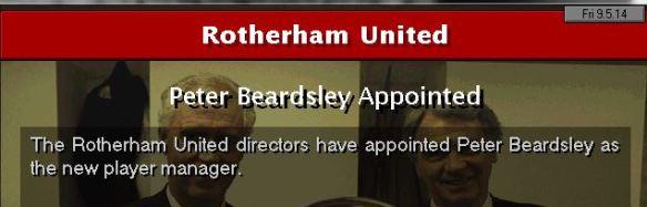 beardsley to rotherham
