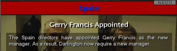 francis to spain