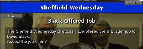 sheff wed job