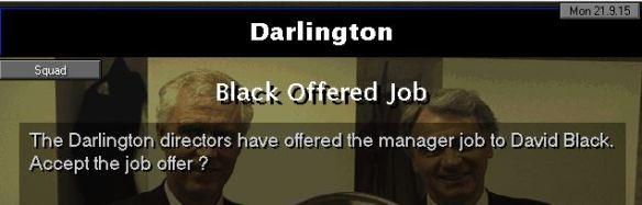 darlo offer job