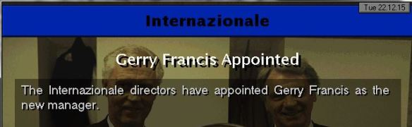 francis to inter