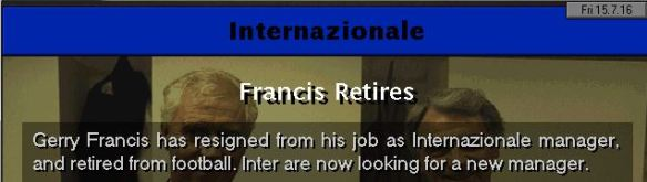 gerry retires