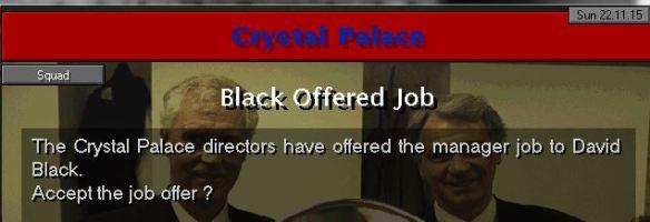 palace job