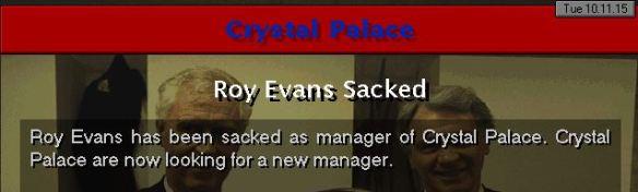 palace sack evans