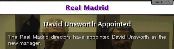 real madrid appoint unsworth