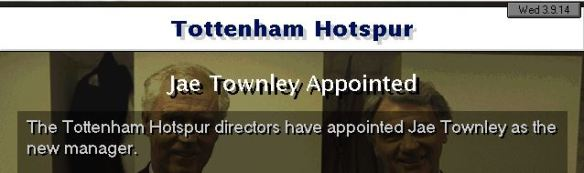 spurs appoint townley