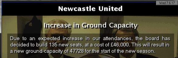 135 new seats