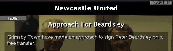 beardsley to grimsby