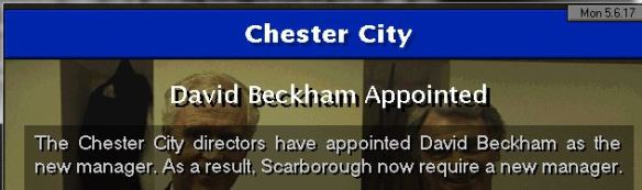 beckham to chester