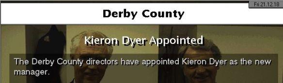 dyer to derby