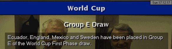 england WC draw