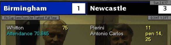 FA Cup SF win