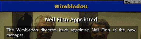 finn to wimbledon