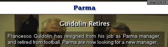 guidolin retires