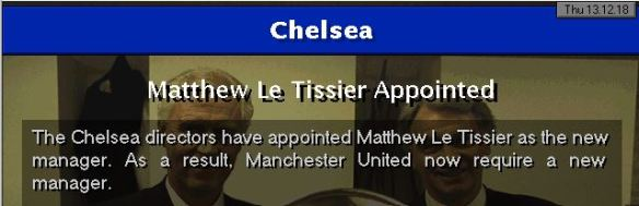 le tiss to chelsea