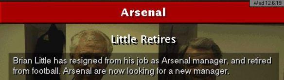 little retires