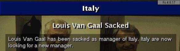 LVG sacked