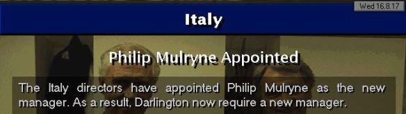 mulryne to italy