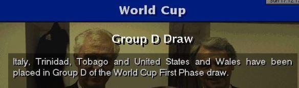 weird WC draw