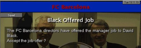 barca job offer