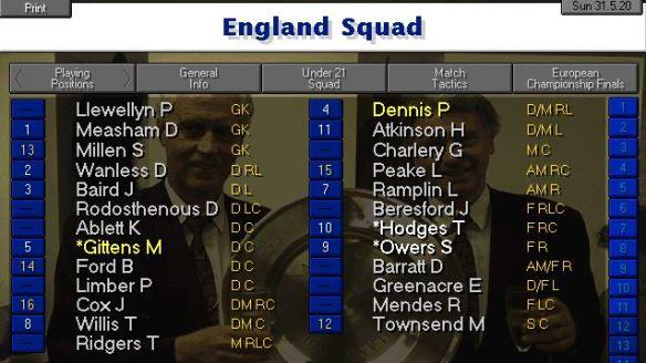 england squad 2020