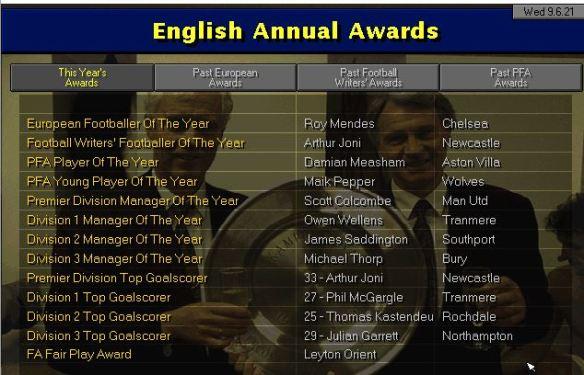awards 21